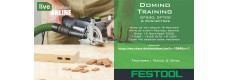 Festool Domino DF500 & DF700 - Training 12 Nov 2020
