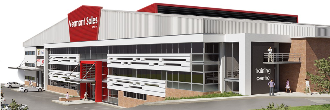 The new Vermont Sales Building Complex