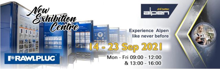 2021 Alpen & Rawlplug Exhibition 14 - 23 Sep 2021