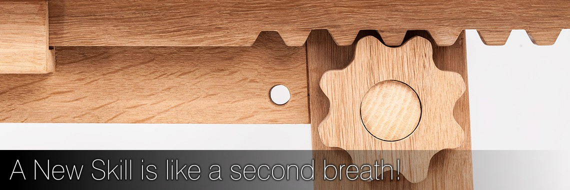 A new skill is like a second breath